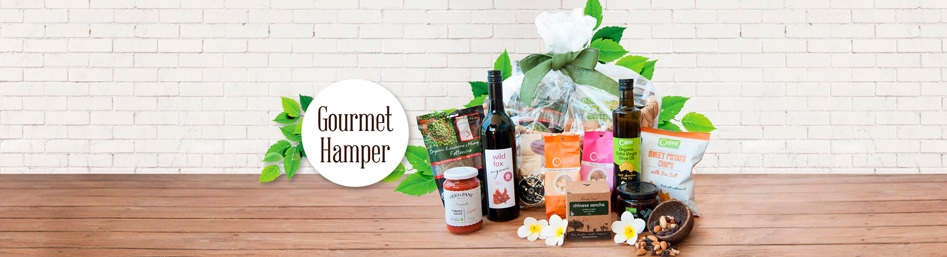 Gift Basket Ideas Banner