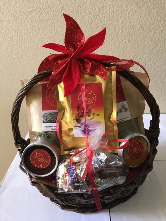 20-ITEMS-Healthy-awsome-Gift-Basket-of-100-Natural-Herbal-teas-and-spices-0