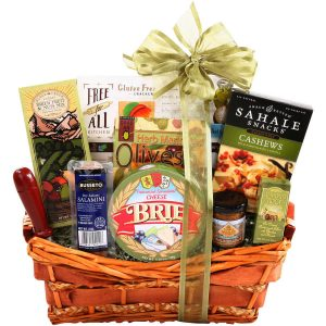 Wedding gift baskets shop wedding gift baskets online alder creek gluten free gift basket 9 pc birthday wedding holiday party snacks negle Choice Image