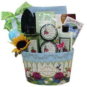 Merveilleux Art Of Appreciation Gift Baskets Garden Delights Green Tea Spa Bath And  Body Set