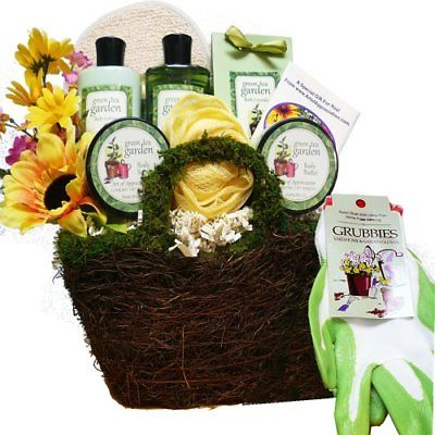 Art-of-Appreciation-Gift-Baskets-Gardeners-Hand-and-Body-Relief-Green-Tea-Spa-0