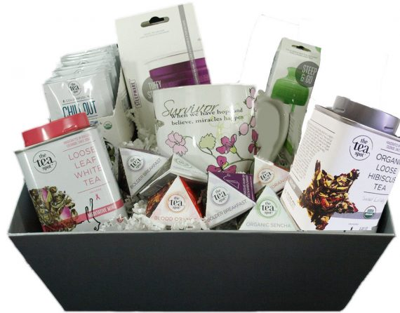 CANCER-SURVIVOR-GIFT-BASKET-Huge-Basket-Full-of-Teas-Accessories-and-Goodies-0