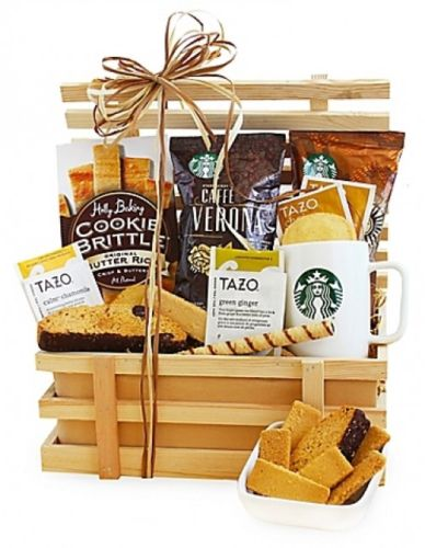 California-Delicious-Country-Coffee-Crate-Gift-Basket-0