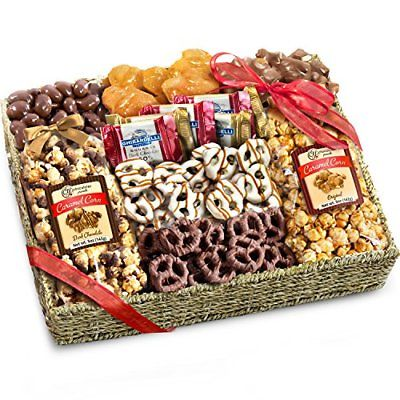 Chocolate-Gift-Basket-Valentines-Day-Gourmet-Love-Candy-Treat-Arrives-Fresh-USA-0
