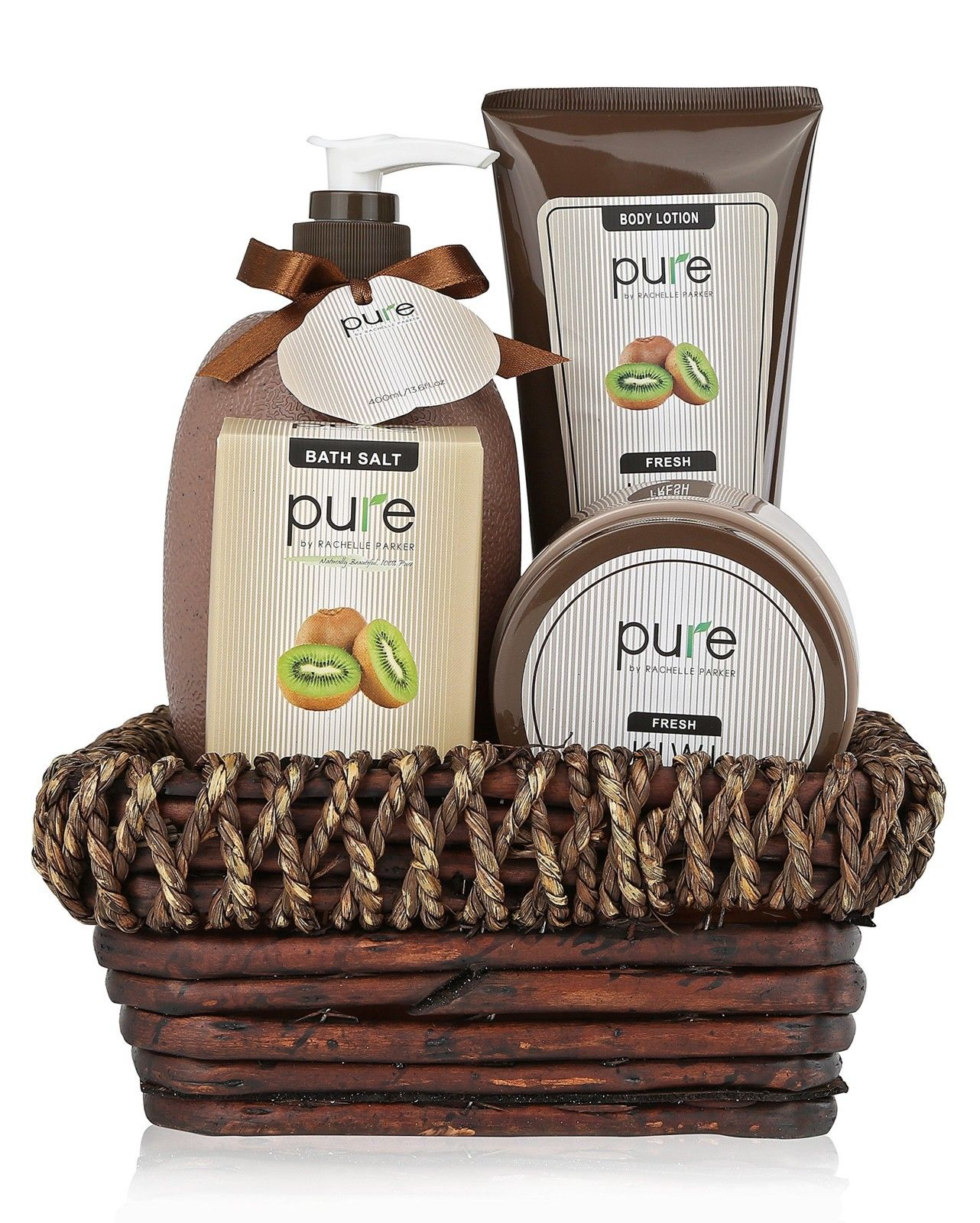 Deluxe Spa Gift Basket BEST Birthday Thank You For Women Pure Bath
