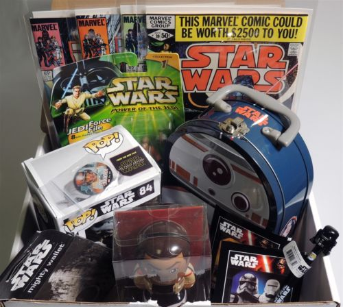 ESL6000 STAR WARS IN A BOX Present-Care Package-Gift Basket Kit-Stocking Stuffer & Star Wars Gift Baskets | Shop Star Wars Gift Baskets Online