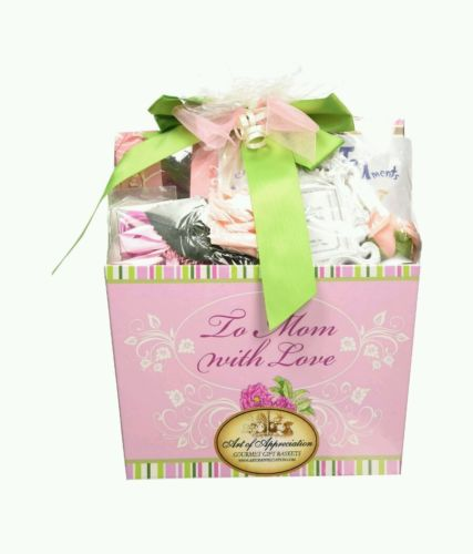 Gift-Baskets-To-Mom-With-Love-Appreciation-Tea-Cookie-Basket-Special-NEW-0