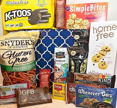 College gift baskets shop college gift baskets online gluten free dairy free gift box basket yummy treats for birthday college negle Images