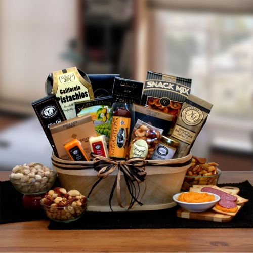 Gourmet-Nut-and-Sausage-Gift-Basket-0