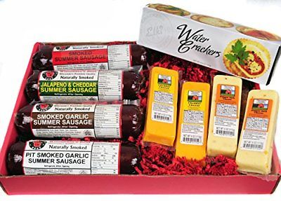 Mancave-Ultimate-Mens-Cheese-Sausage-Gift-Basket-features-free-shipping-0