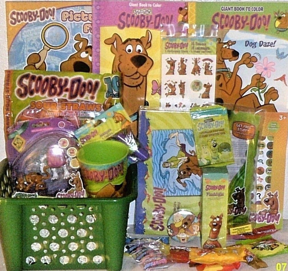 Easter gift baskets shop easter gift baskets online new scooby doo easter toy gift basket birthday gift action figure toys playset negle Image collections