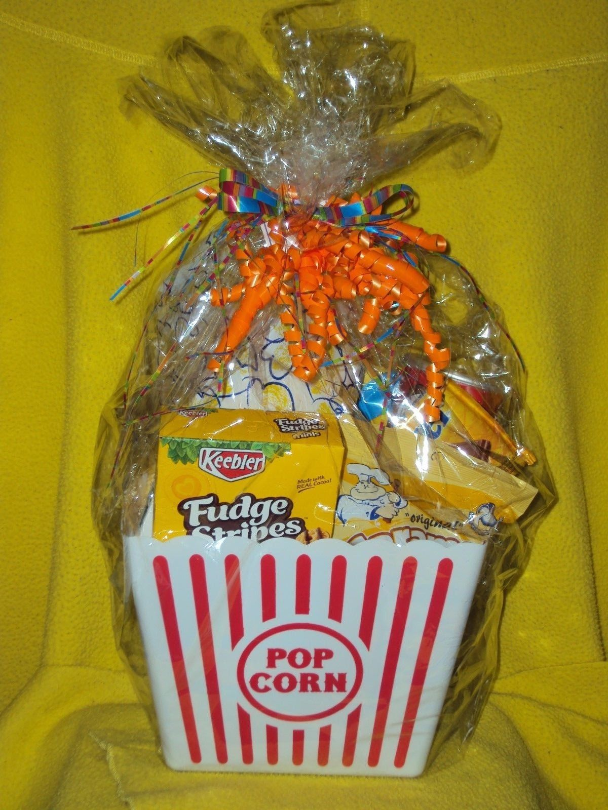 movie night gift basket fully loaded treats with your fave movie