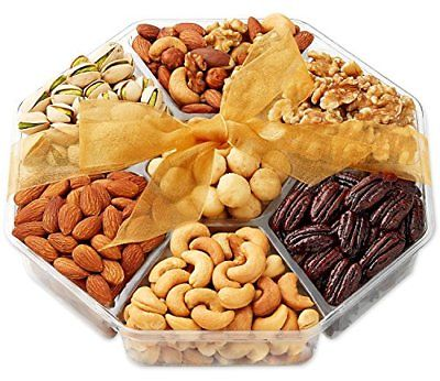 Nuts-Gift-Basket-Food-Gourmet-7-Sectional-Fruit-and-Nut-0