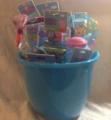 PEPPA-PIG-EASTERGIFT-BASKET-HAIR-ACCESSORIES-WATER-BOTTLE-JEWELRY-MORE-0