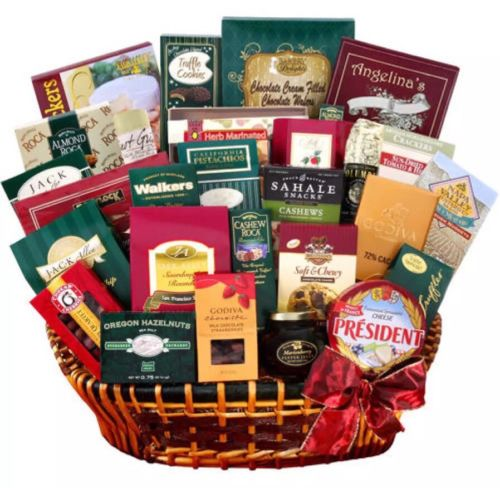 PERFECT-VALENTINES-DAY-Alder-Creek-Extravagant-Gourmet-Gift-Basket-DELIVERED-0