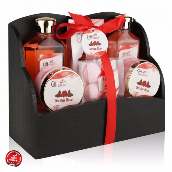 Spa-Gift-Basket-for-Women-Female-Rose-Beauty-Set-on-Birthday-Wedding-Anniversary-0