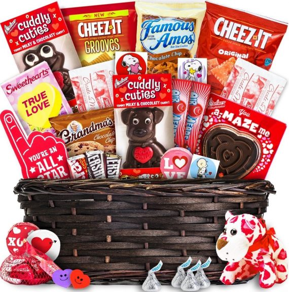Special-Valentines-Day-Candy-Basket-Box-Gift-Idea-Chocolate-Candy-Birthday-Love-0