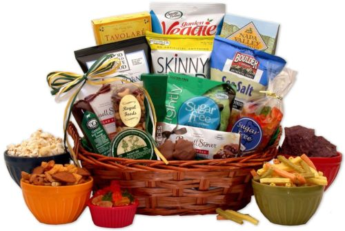 Sugar Free Diabetic Gift Basket For Conscious People Or