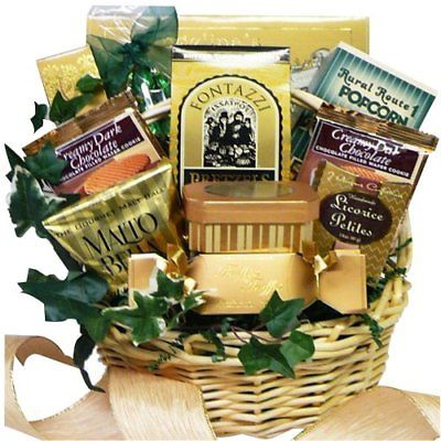 Sweet-Sensations-Cookie-Candy-and-Treats-Gift-Basket-SMALL-Chocolate-Option-0